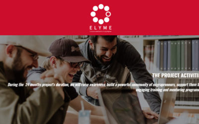 Networking event in 2020 for the project ELYME